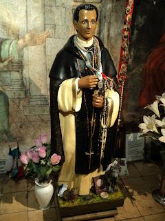 Imagem de San Martín de Porres no Convento de Santo Domingo de Lima
