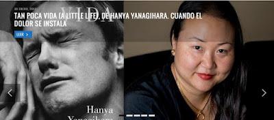 """Hanya Yanagihara, """"Tan poca vida"""", """"A little life"""""""