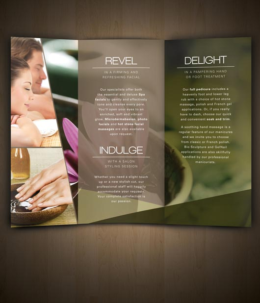 30 examples of spa brochure designs