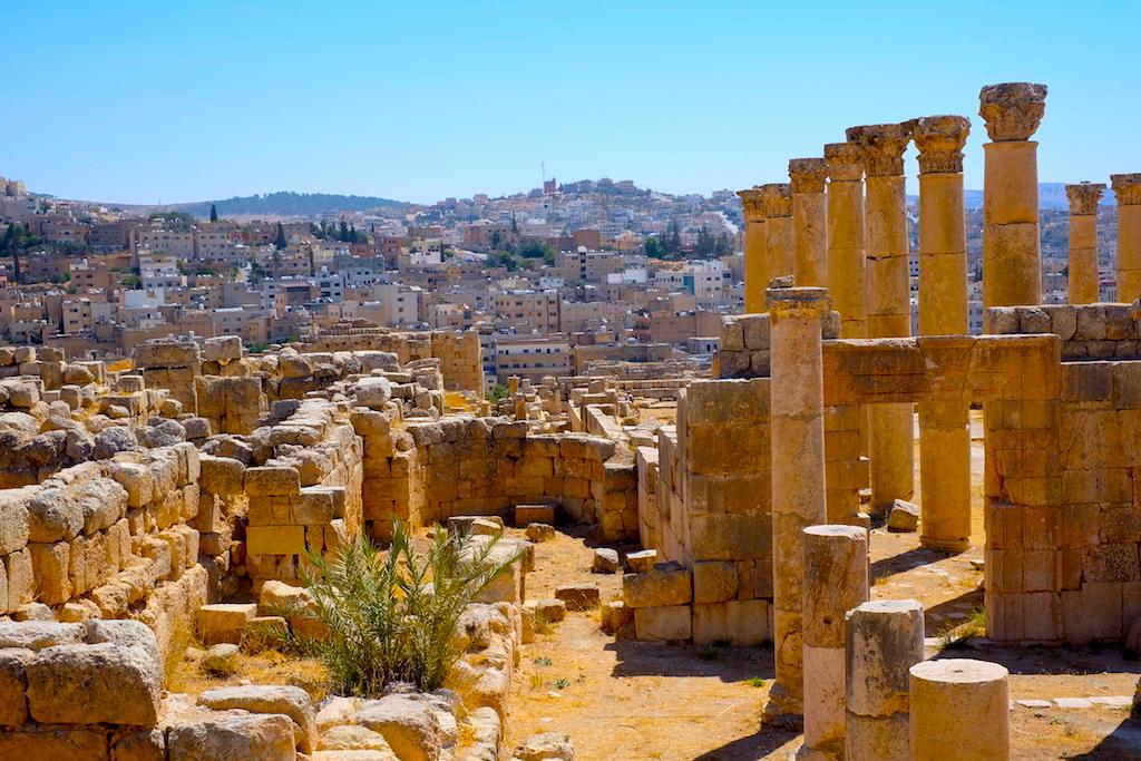 Liburan ke Jordan (Jerash dan Amman) - Jerash Ruins