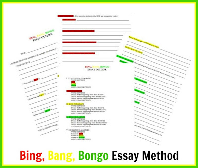 Teaching With Tlc Making Essay Writing Fun With The Bing Bang  Making Essay Writing Fun With The Bing Bang Bongo Method