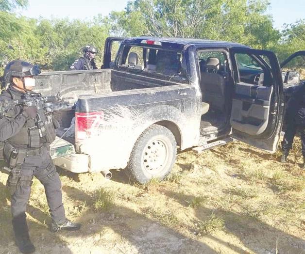 Sicarios del Cartel del Noreste intentaron emboscar a Federales, no pudieron y corrieron en Nueva Ciudad Guerrero, Tamaulipas