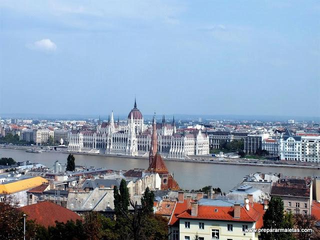 El mejor mirador de Budapest
