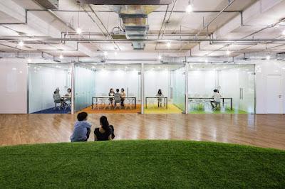 Ofis İçinde Yeşil Alan Oluşturan Şirket