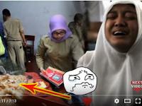Haru Medsos : Saat Razia, Isi Tas Siswi SMA Ini Membuat Para Gurunya Menangis Terseduh! Apa Isi Sebenarnya Tas Tersebut??