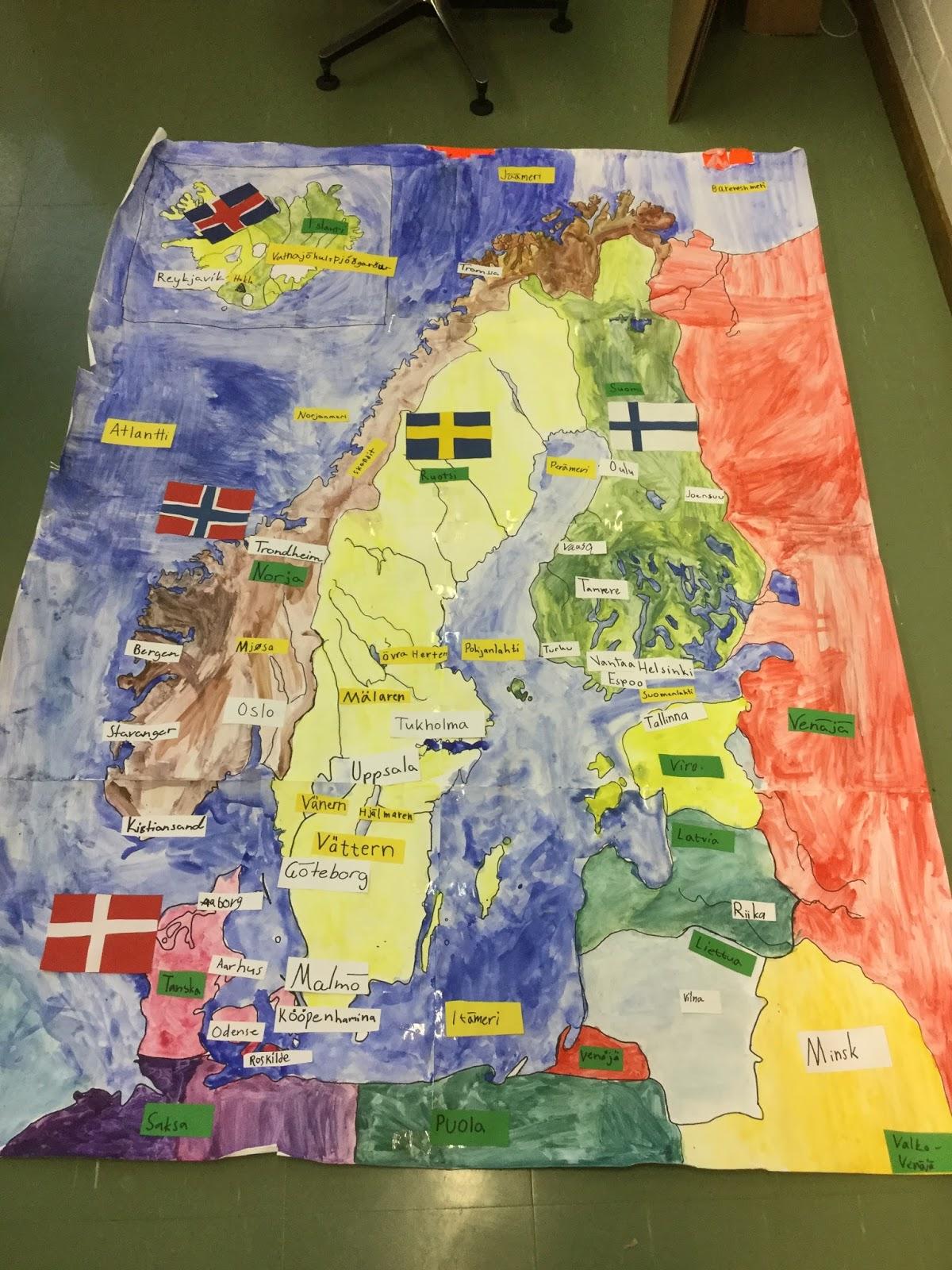 Karamzinin Blogi Iso Pohjoismaiden Kartta
