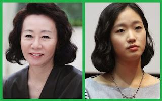 Youn Yuh Jung and Kim Go Eun, Canola Main Cast