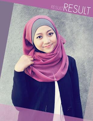 Cara terbaru memakai jilbab segi empat kreasi modis