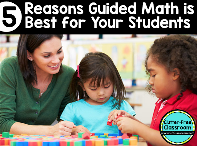 Learn how to instantly improve your math instruction and increase student learning by using a math workshop with guided math in your elementary classroom.