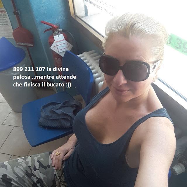 gilda pedone in attesa delle vostre chiamate in lavanderia 899 211 107