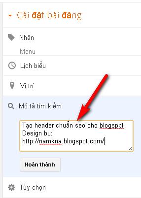 Tối ưu thẻ Title trong Blogspot cho Search Engine