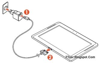 2Toer: Samsung Galaxy Note 10.1 GT N8000 Insert SIM Memory