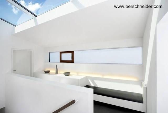 Ejemplo de arquitectura interior contemporánea