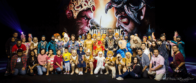 The Monkey King, Resorts World Genting, Blogger Malaysia,