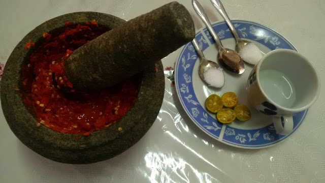 belacan chilli, raw chili paste, recipe sambal belcan, recipes, malaysia chili, step by step chili paste, red chili