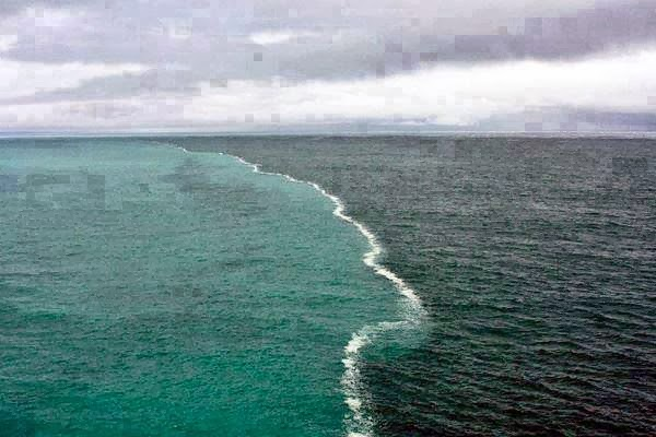 the gulf of alaska were two oceans meet