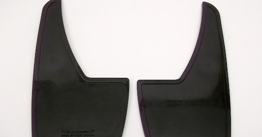 For Sale - Opel Manta A series & Others Black Front Mud Flaps - £17.50