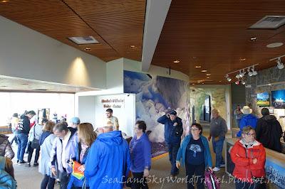 Mendahall Glacier, 朱諾冰川, 訪客中心, visitor center