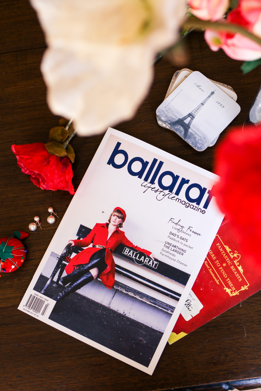 Liana of @findingfemme for Ballarat Lifestyle Magazine
