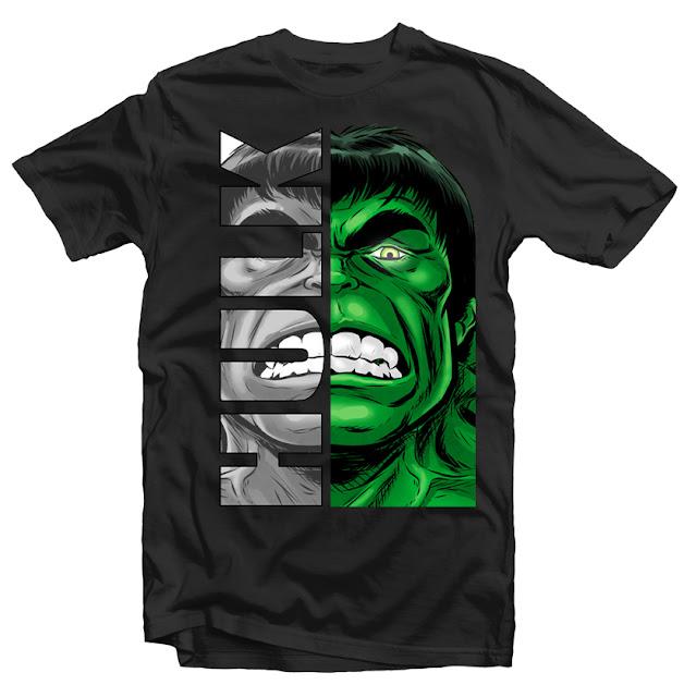 hulk head tshirt design