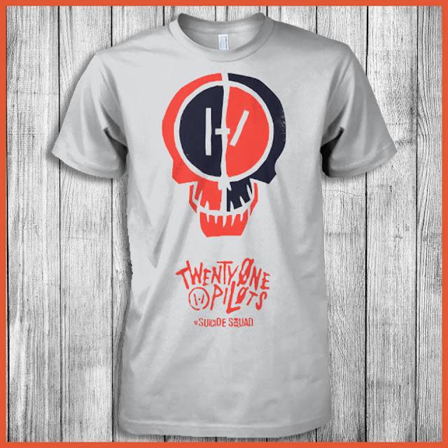 Twenty One Pilots Suicide Squad Shirt