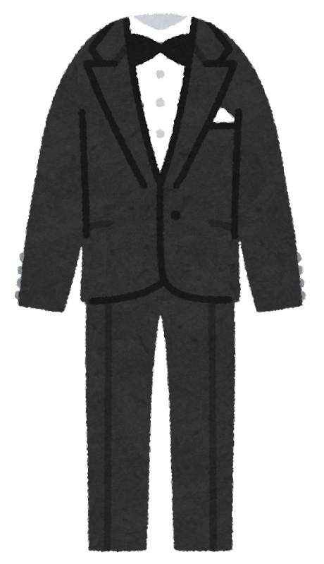 礼服の種類2:タキシード