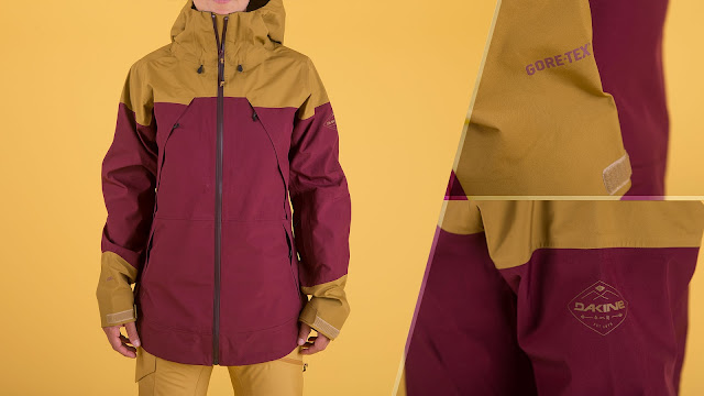 Gore Tex Branded Ski Jackets