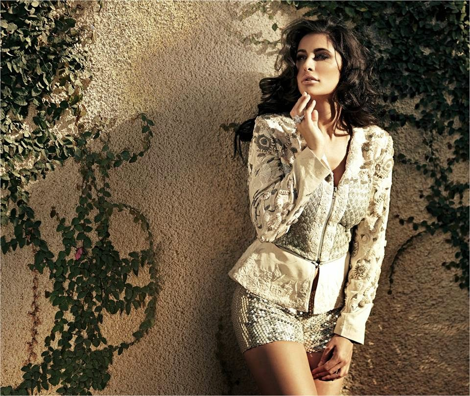 Stunning Nargis Fakhri looking angelic in white for Noblesse Magazine photo shot
