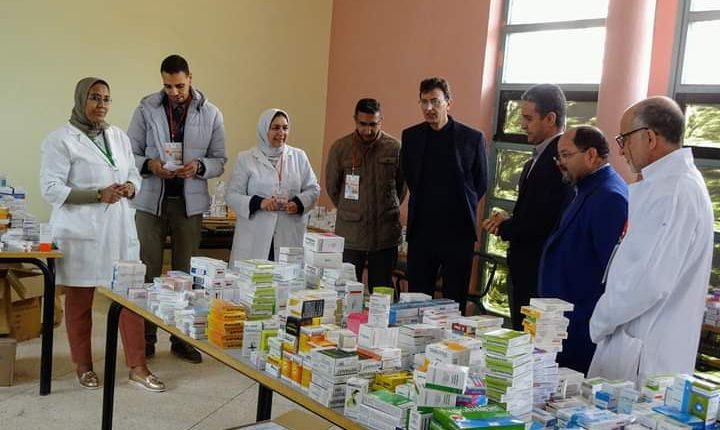 تارودانت: أزيد من 2400 مستفيد من حملة طبية متعددة التخصصات بجماعة أساكي