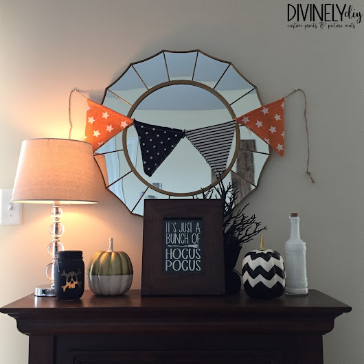 Minimalist and Budget-Friendly Halloween Decor