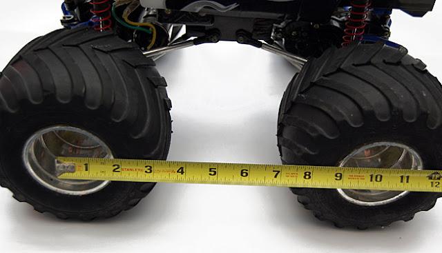 Tamiya Clod Buster Stock Wheelbase