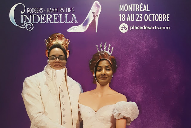 Le spectacle Cendrillon de Broadway à Montréal