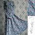 Baju Gamis Syari Motif Bunga Wolfis GB0005