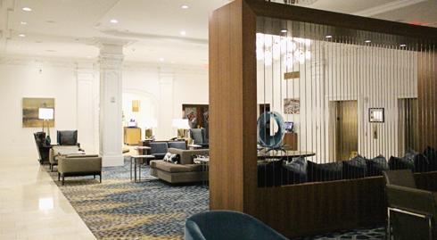 Club Quarters Hotel Houston Texas