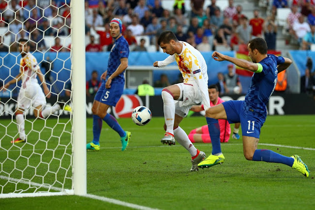 Euro Cup 2016 : Crotia vs Spain