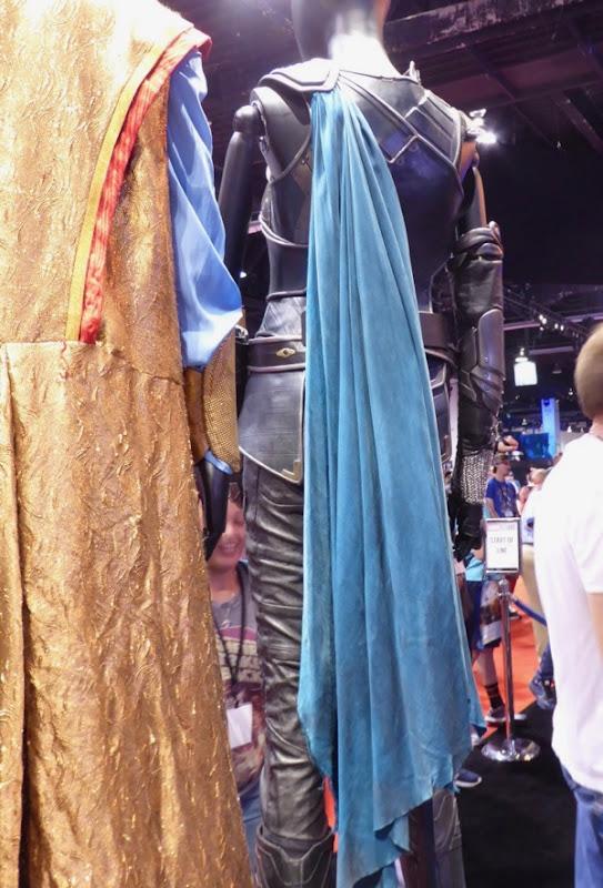 Thor Ragnarok Valkyrie blue costume cape