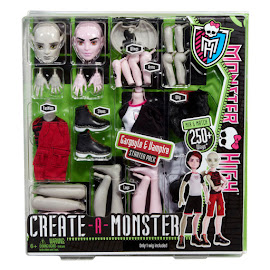 MH Create-a-Monster Gargoyle & Vampire Doll