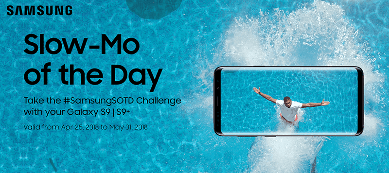 "Samsung holds ""Slow-Mo of the Day"" challenge for the Galaxy S9 series"
