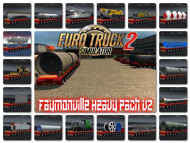 Trailer Oversize Pack + Truck Man TGX Euro Truck Simulator 2