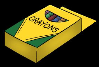 crayon box clip art