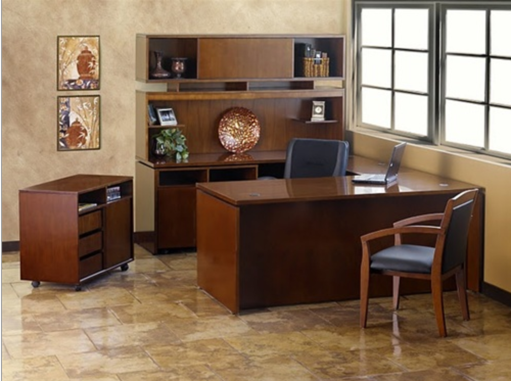 brand showcase top home office desk sets by mayline