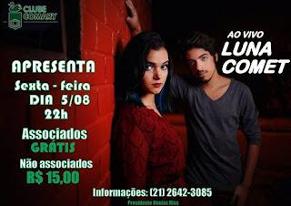 Luna Comet no Clube Comary de Teresópolis dia 05/08/16