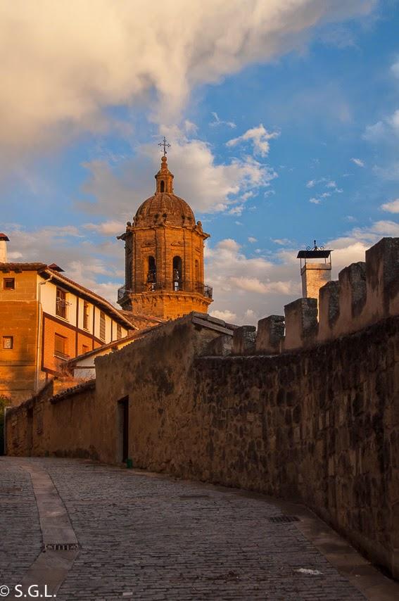 Campanario en Labastida, Rioja alavesa