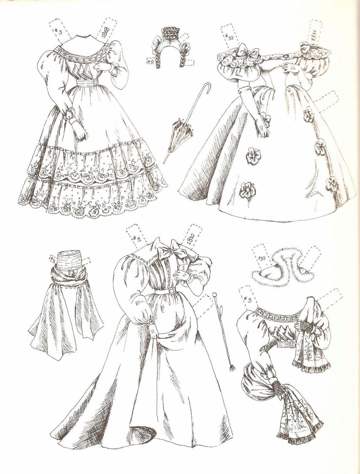 Miss Missy Paper Dolls Catherine Anne