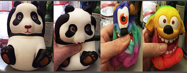Sinofun Mixed Monster Panda Squishy Packs Stress Relief Toys