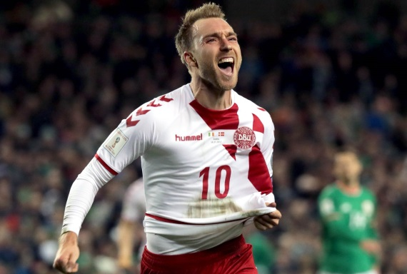 Danish playmaker Christian Eriksen