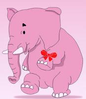 elefant roz