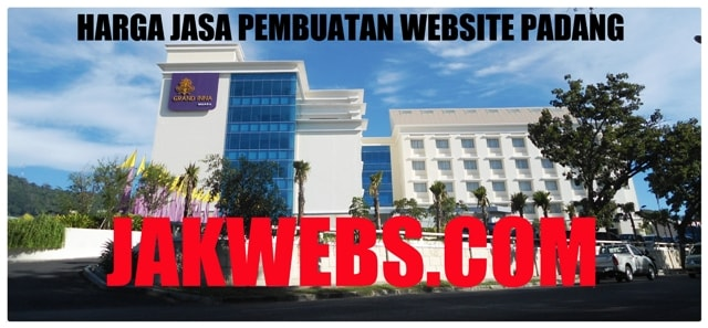 harga jasa pembuatan website padang. jasa web padang