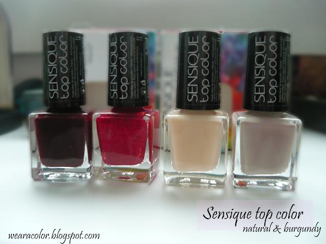 Najmodniejsze kolory w sezonie - Sensique top color (część 1)