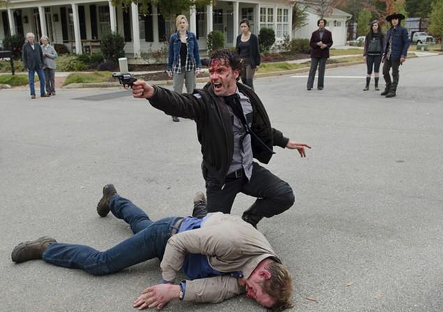'The Walking Dead' season finale was :Conquer